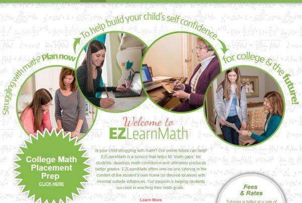 EZ Learn Math - Online Tutoring Website