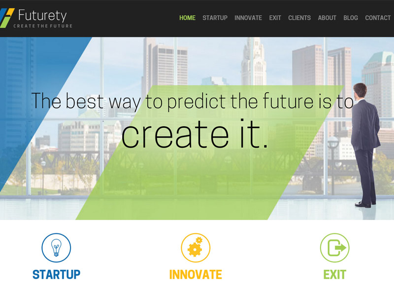 Futurety - Healthcare Business Website