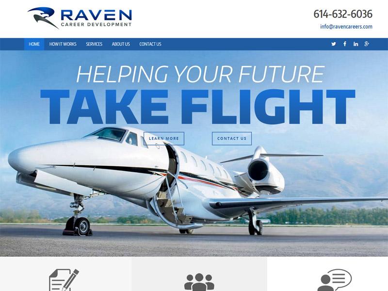 Raven Career Development - Career Development Site