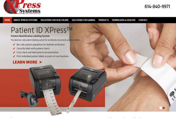 XPress Systems - Identification Solutions Business Website