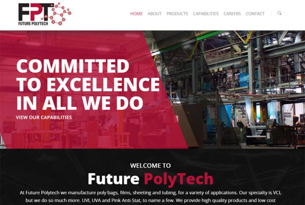 Future Polytech - Technology Website
