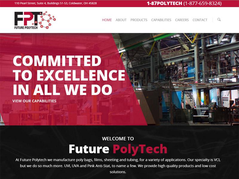 Future Polytech - Technology Website