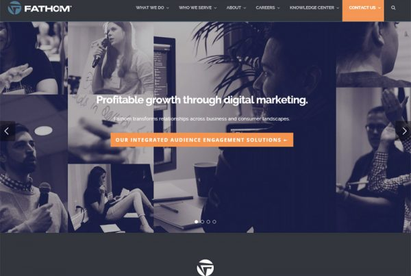 Fathom Delivers - Marketing Website