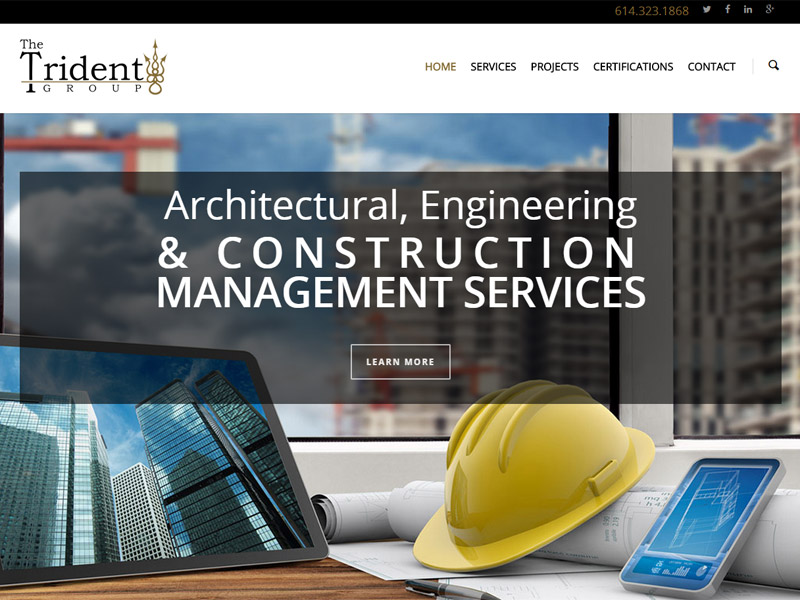 The Trident Group - Construction and Management Website