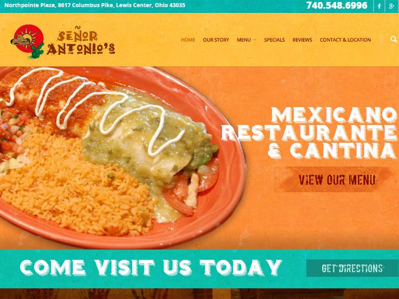 Señor Antonio's Restaurant - Restaurant Website