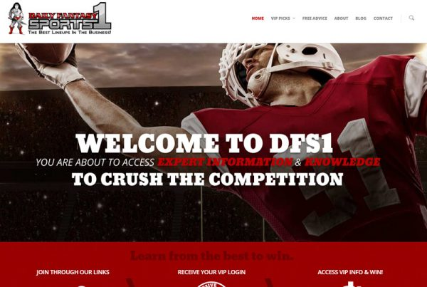 Daily Fantasy Sports 1 - Fantasy Sports Website