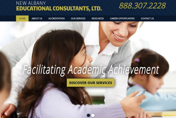 New Albany Educational Consultants, LTD - Educational Website