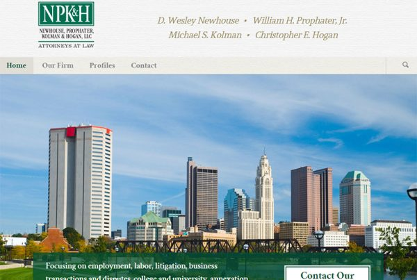 NPK&H - Law Firm Website