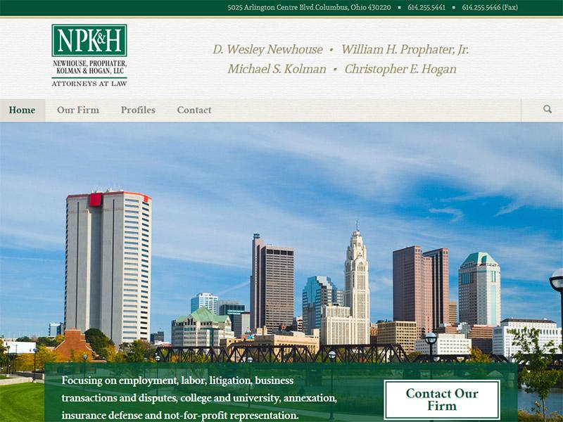 NPK&H - Law Firm Website