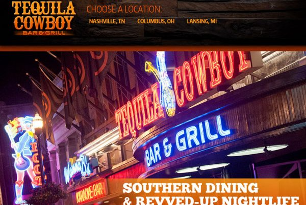 Tequila Cowboy Bar & Grill - Restaurant Bar & Grill Website
