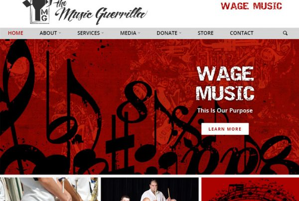 The Music Guerrilla - Music Website