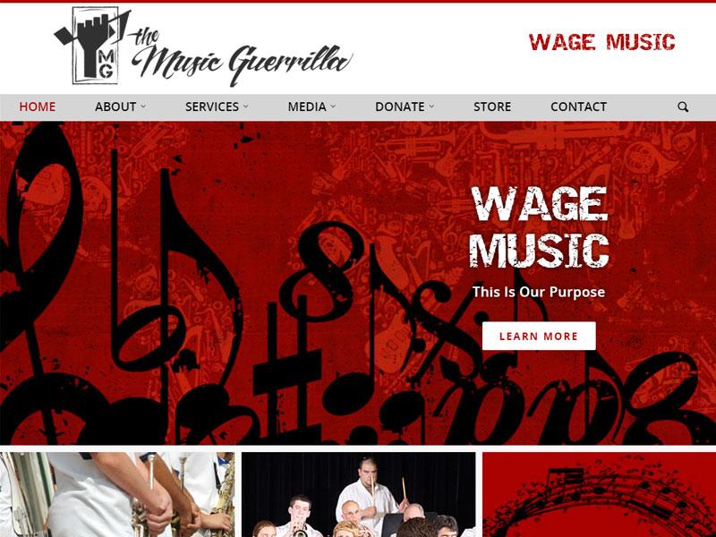 The Music Guerrilla - Music Website