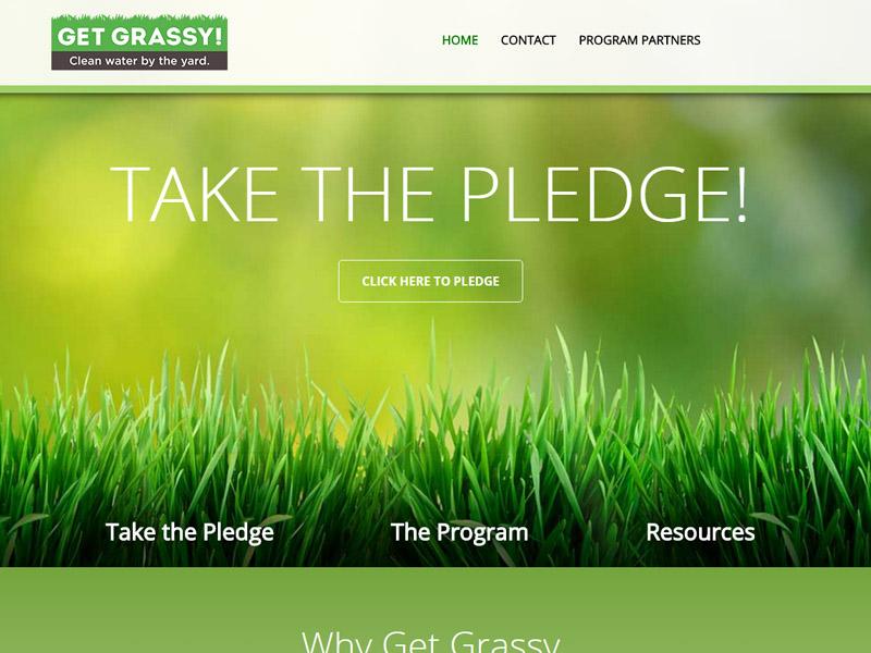 Get Grassy - Environmental Website