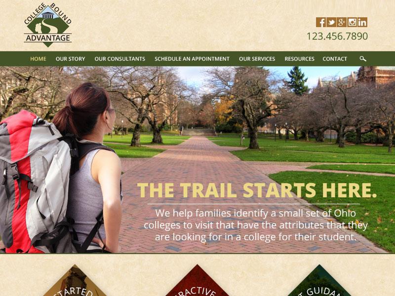 College Bound Advantage - Education Website