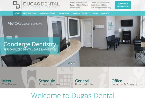 Dugas Dental - Dental Practice Website
