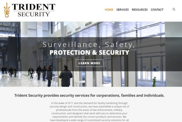 Trident Security USA - Technology and Security Website