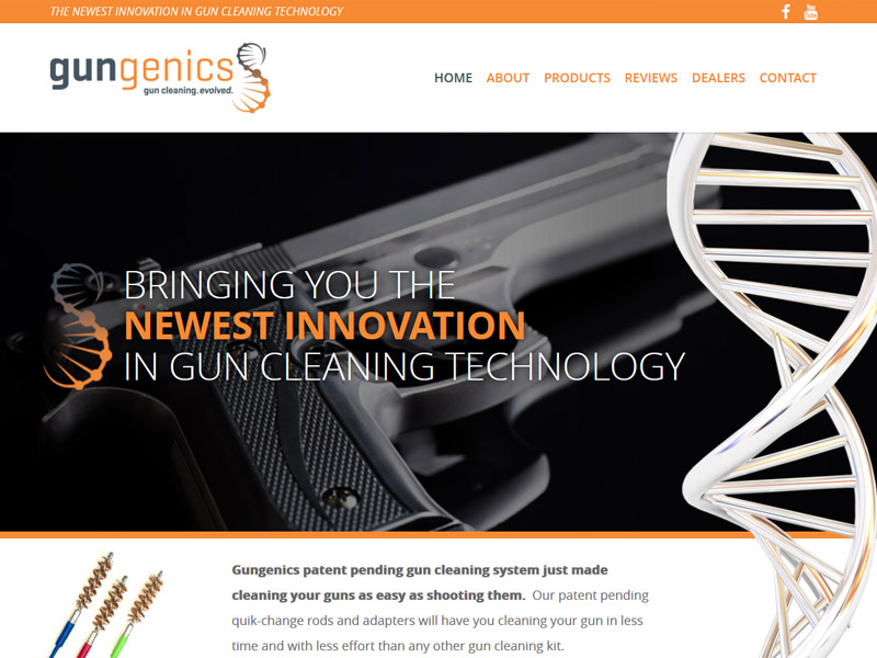 Gungenics - Gun Technology Website