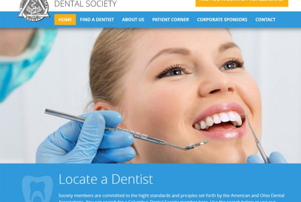 Columbus Dental Society - Dental Practice Website