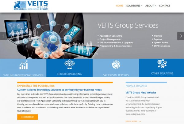 Veits Group - Business Technology Website