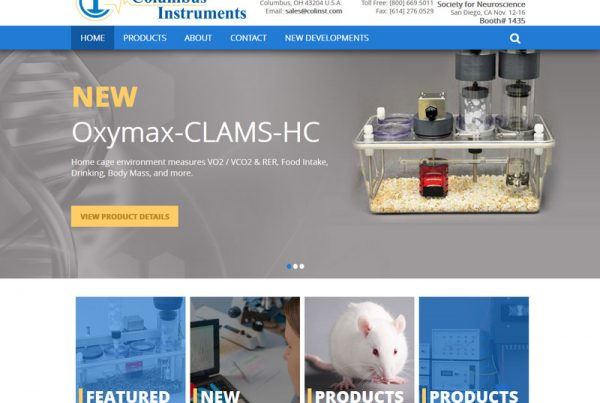 Columbus Instruments - Family Owned Business Website