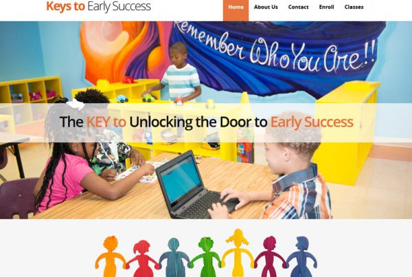 Keys to Early Success - Performing Arts Charity Website