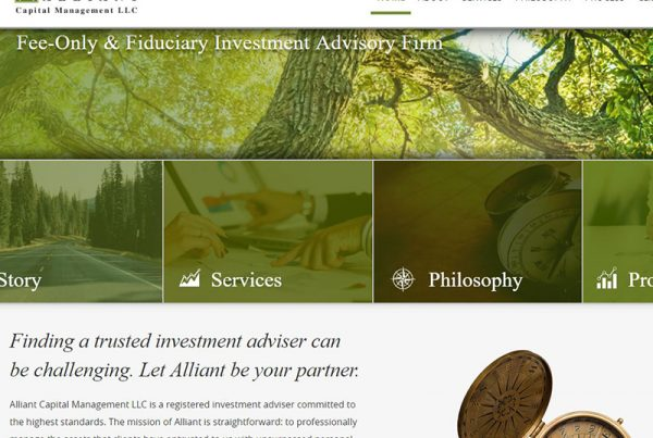 Alliant Capital Management LLC - Investment Firm Website