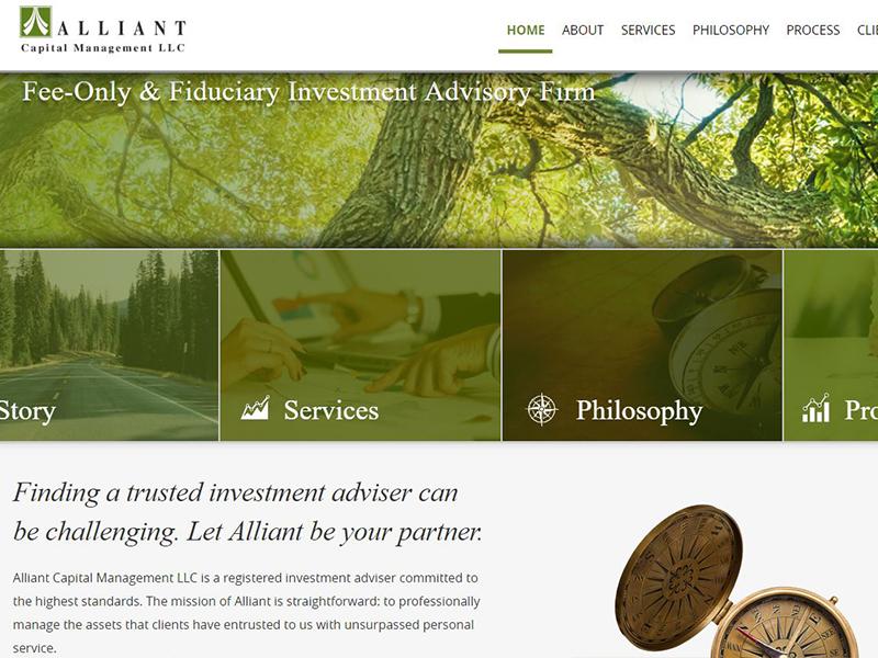 Alliant Capital Management LLC - Investment Firm Website