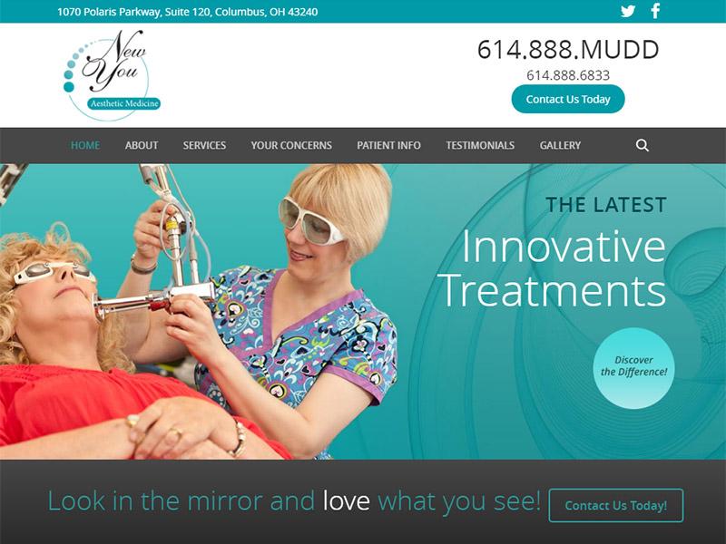 New You - Healthcare Website