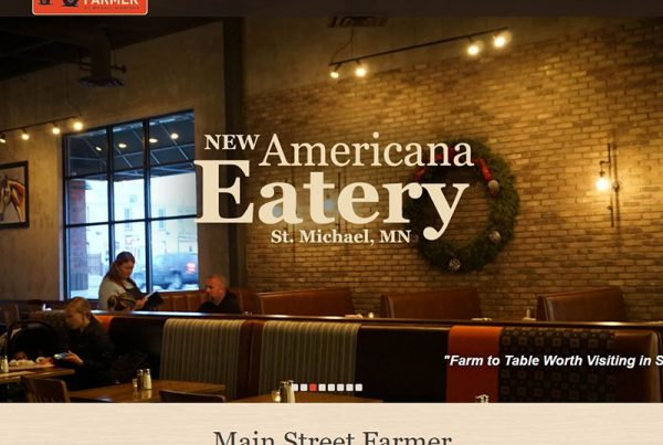 Main Street Farmer - Restaurant Website