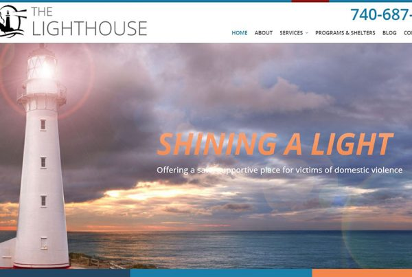 The Lighthouse Domestic Violence Shelter - Non-Profit Website