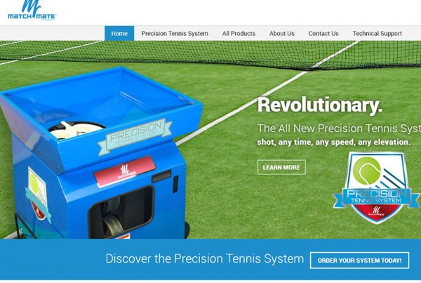 Match Mate Tennis - Tennis Accessories Website
