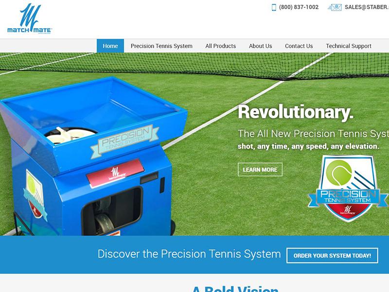 Match Mate Tennis - Tennis Accessories Website
