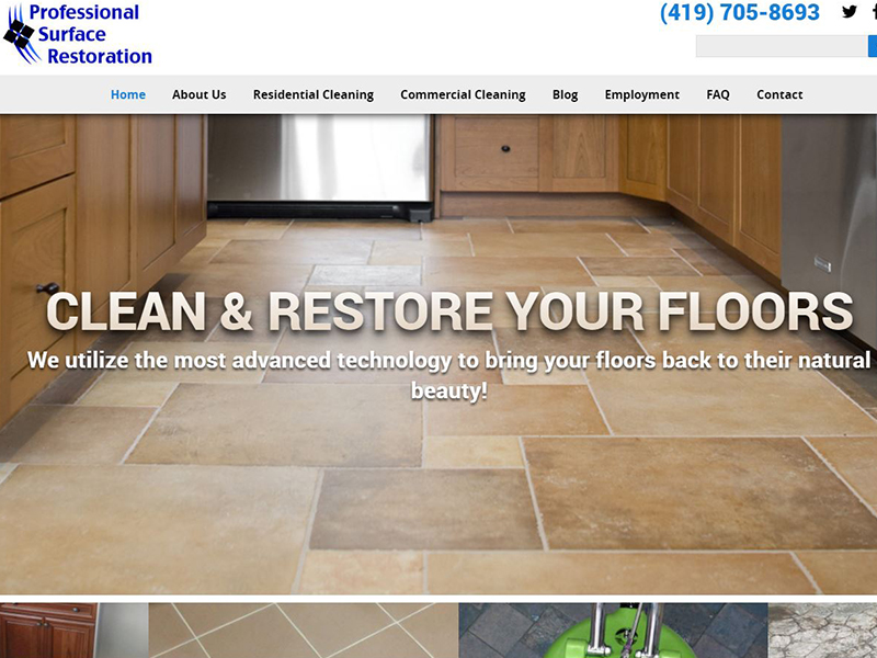 Professional Surface Restoration - Professional Cleaning Company