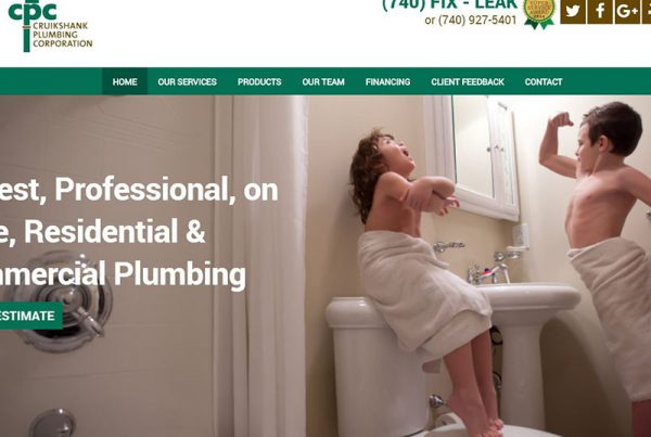Cruikshank Plumbing - Plumbing Corporation Website