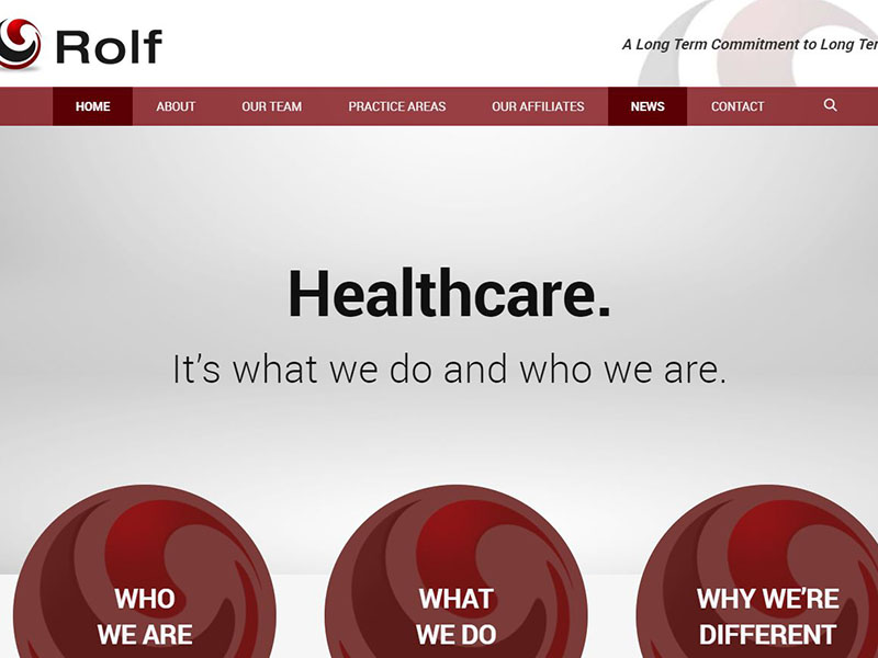 Rolf Law - Law Firm Website