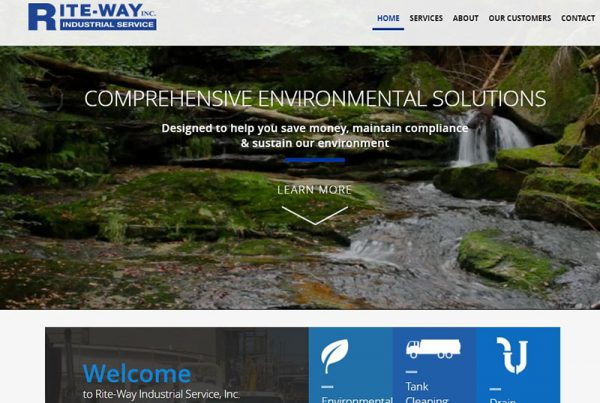 Riteway Industrial - Industrial Cleaning Website
