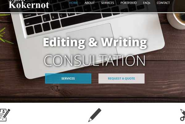 Walter Kokernot - Editing & Writing Business