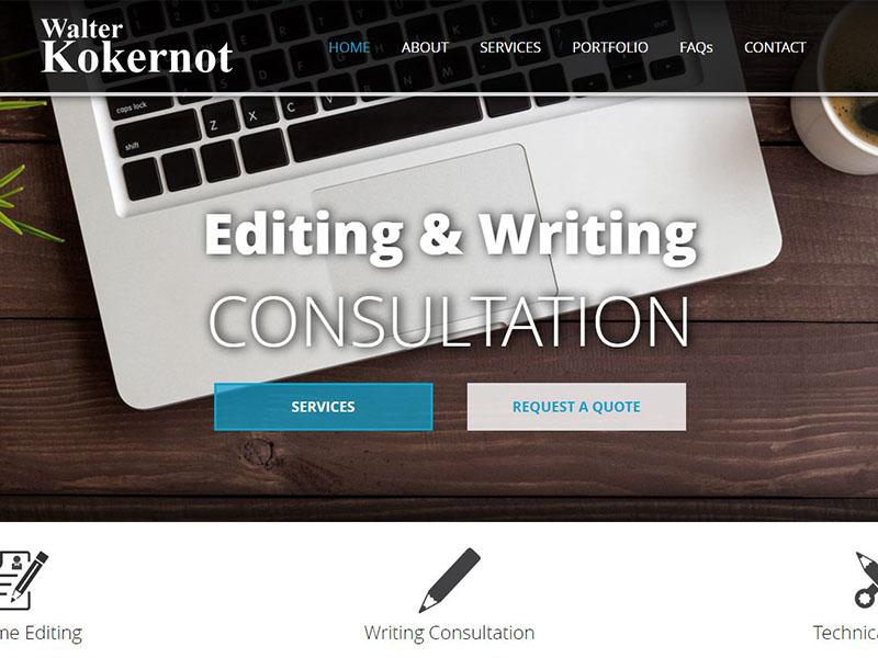 Walter Kokernot - Editing & Writing Business
