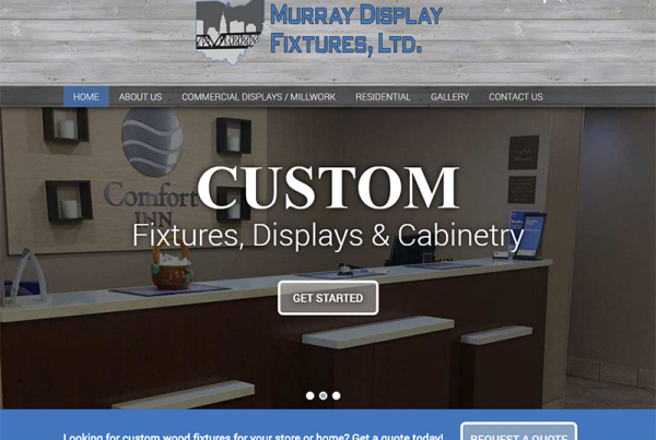 Murray Display Fixtures, LTD - Corporate Business Website
