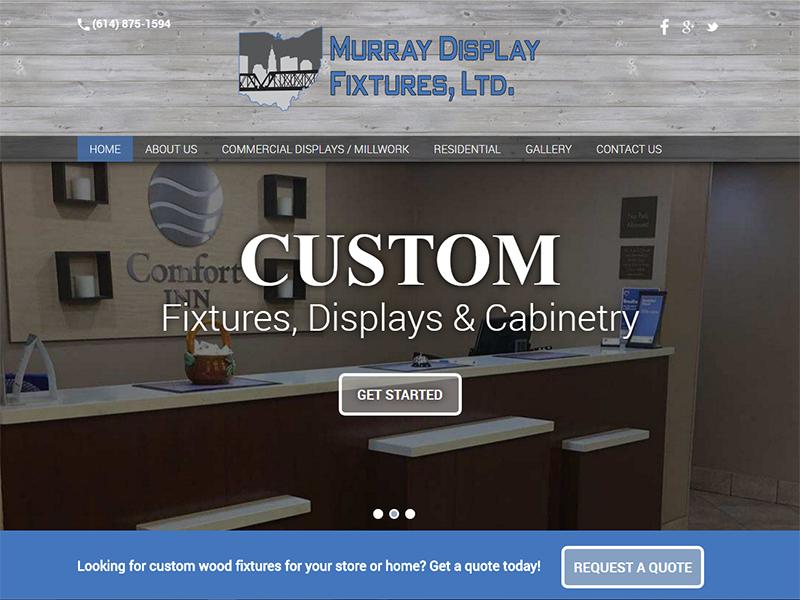 Murray Display Fixtures, LTD - Corporate Business Website