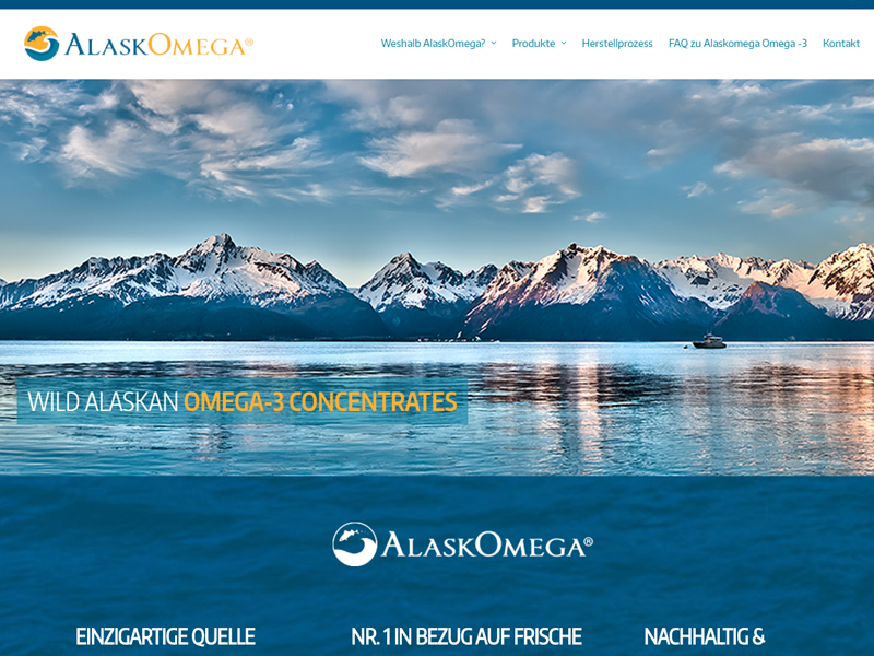 AlaskOmega - Business Website