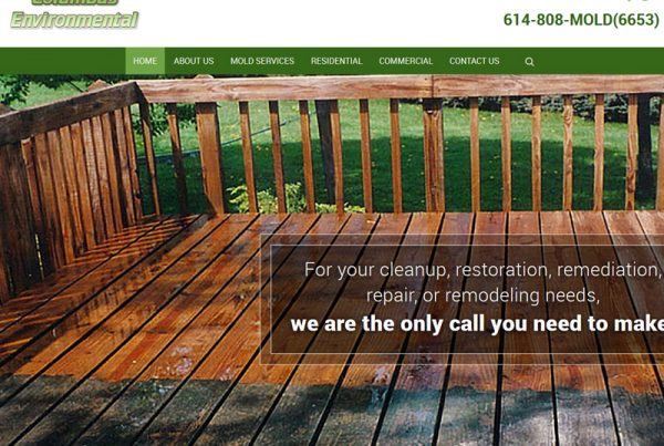 Columbus Environmental Business Website