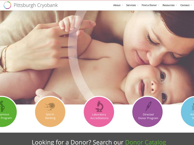 Pittsburgh Cryo Bank Website