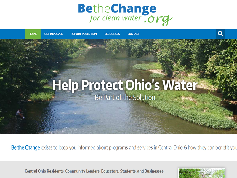 Be the Change Website
