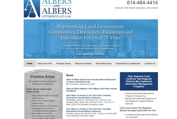 Albers & Albers - A Law Website
