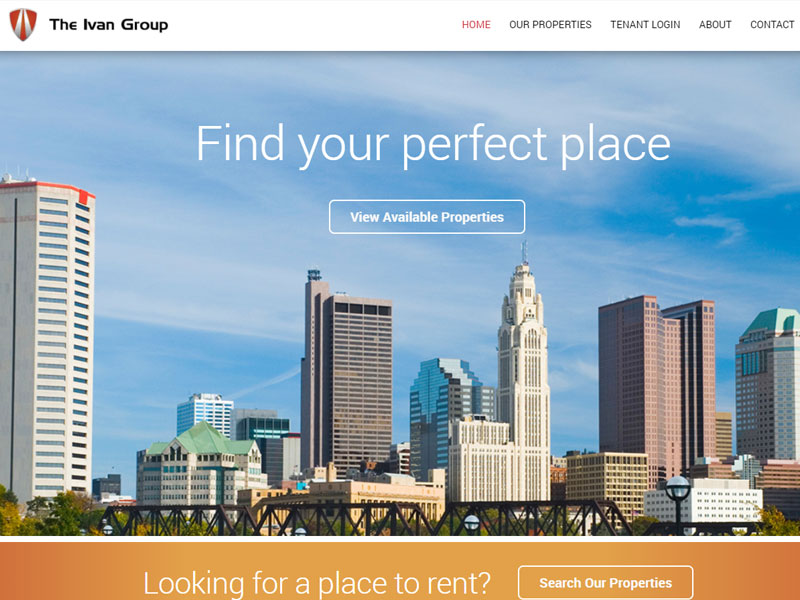 The Ivan Group Business Website