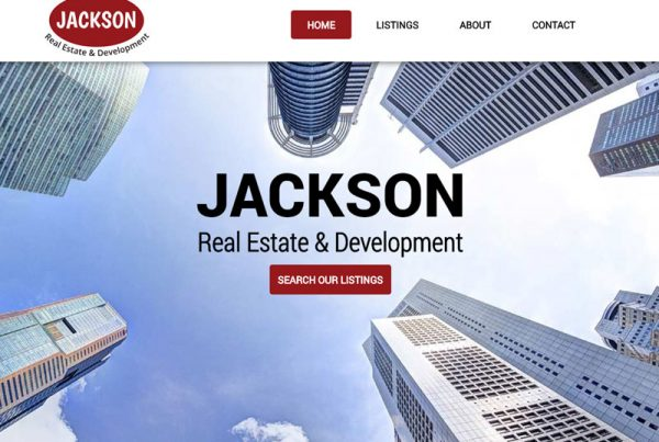 Jackson Real Estate and Development Real Estate Website