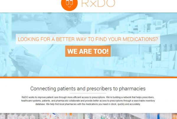RxDO Business Website