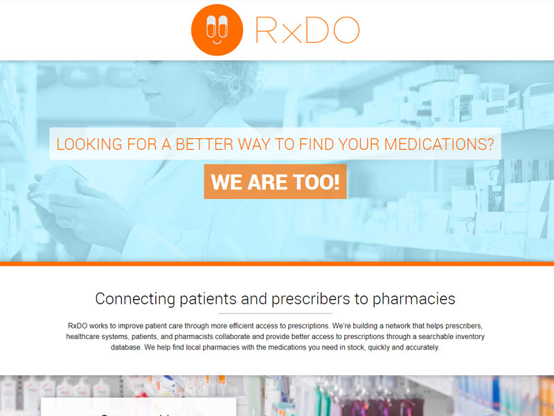 RxDO Business Website
