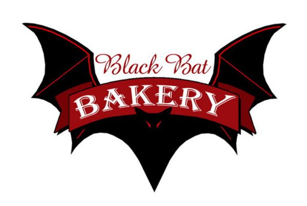 Black Bat Bakery Logo